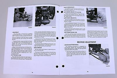 sperry new holland 451 456 mower owners operators manual book rh picclick com new holland 451 operator's manual pdf new holland 451 sickle mower operator's manual