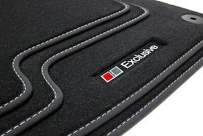 Velours Fußmatten 4-tlg Premium Autoteppich für Peugeot 308 SW ab 05//2014