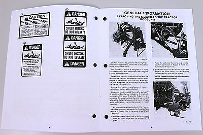 sperry new holland 451 456 mower owners operators manual book rh picclick com Sperry New Holland 451 New Holland 451 Parts Diagram