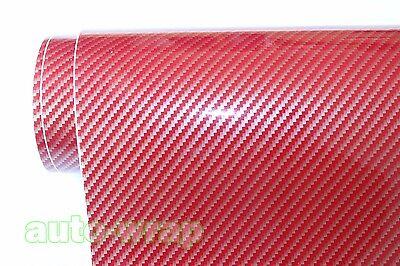 1 Lot Samples Hot Glossy Car 2D Carbon Fiber Vinyl Wrap Sticker Film Sheet