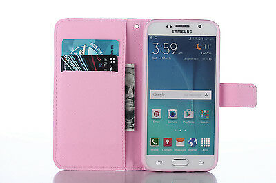 Flip Wallet Pu Leather Case Stand Cover For Samsung Galaxy Phones 8