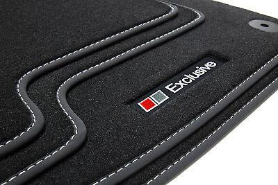 Exclusive Line Fußmatten für Audi A6 4F C6 Avant Kombi S-Line Bj. 2006-2011
