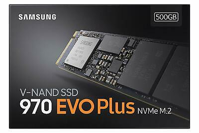Samsung 970 EVO PLUS 500GB SSD M.2 NVMe PCIe3.0 X4 Internal Solid State Drive 3