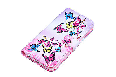 Flip Wallet Pu Leather Case Stand Cover For Samsung Galaxy Phones 4