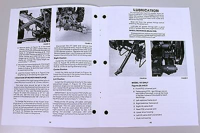 sperry new holland 451 456 mower owners operators manual book rh picclick com new holland 451 sickle mower operator's manual new holland 451 operator's manual