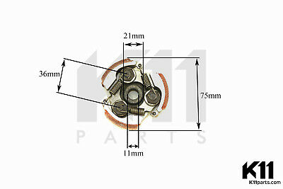 Pocketbike Dirtbike Pocketquad ATV KR Fliehkraft Kupplung,Centrifugal clutch