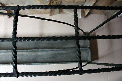 Antique Mid-19thC Very Large Country House Wrought Iron Stick Stand c.1870 4
