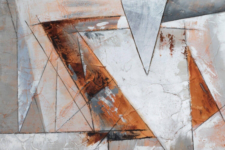 Acryl Gemälde 'GIER NACH FREIHEIT' | HANDGEMALT | Leinwand Bilder 120x80cm 9