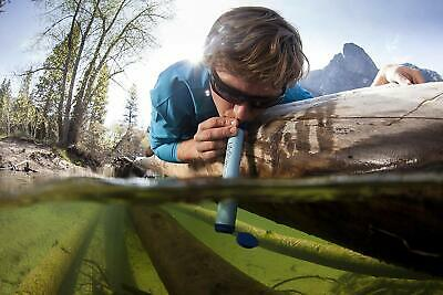 Free Shipping LifeStraw Personal Water Filter For Hiking, Camping, and Emergency 7