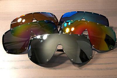 5bd622405d ... Large Oversized Shield Women Sunglasses Huge XXL Frame Aviator Polarized  Lens 4