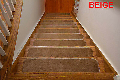 1 Of 7FREE Shipping Comfy Soft Set Of 7 Or 13 Indoor Skid Slip Resistant  Stair Treads 8.5 X 30