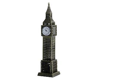 "London Big Ben Clock Tower Showpiece with Watch Collectible Antique Showpiece 7"" 4"