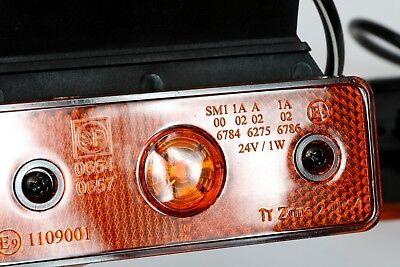 A1 2X LED 12V Weiss BEGRENZUNGSLEUCHTE UMRISSLEUCHTE POSITIONSLEUCHTE SEITENMARKIERUNGSLEUCHTE LKW E-Pr/üf E9