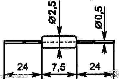 point D9J germanium diodes USSR  Lot of 100 pcs