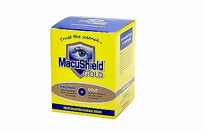 Macushield Gold Food Supplement - Pack of 90 Capsules only 3