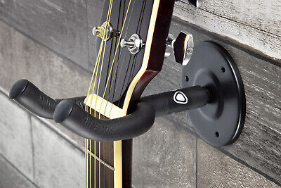 Guitar Wall Hanger Bracket Neck Support Fits Electric, Acoustic and Bass Guitars 5