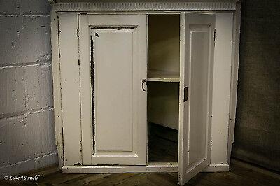 18th Century Painted Glazed Corner Cupboard 4