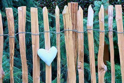 Staketenzaun Holzzaun Kastanienzaun Gartenzaun Zaunlatte imprägniert 50 90 120cm 6