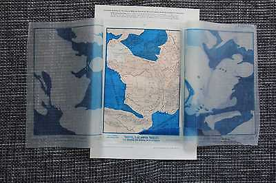 Francia Landmassen Wassermassen en Varios Erdperioden Tarjeta de 1906 2