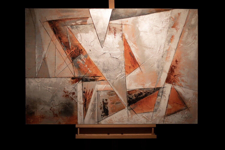 Acryl Gemälde 'GIER NACH FREIHEIT' | HANDGEMALT | Leinwand Bilder 120x80cm 6