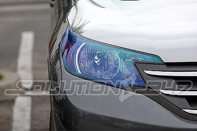 """*12/""""x72/"""" Galaxy Neo Chrome Clear Pearl Headlight Taillight Fog Light Tint Film"""