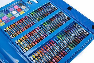 Kids Colouring Set 208PCS Artists Art Case Pencils Painting Childrens Craft 4