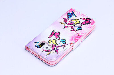 Flip Wallet Pu Leather Case Stand Cover For Samsung Galaxy Phones 7