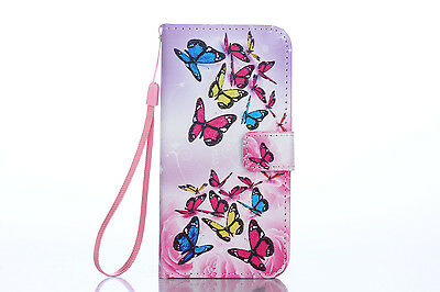 Flip Wallet Pu Leather Case Stand Cover For Samsung Galaxy Phones 2