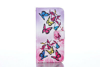 Flip Wallet Pu Leather Case Stand Cover For Samsung Galaxy Phones 9