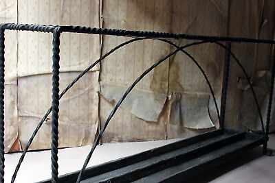 Antique Mid-19thC Very Large Country House Wrought Iron Stick Stand c.1870 2
