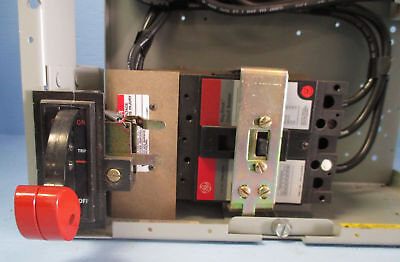 GE 8000 Series Size 3 Breaker Type MCC Starter Bucket MCCB 50 Amp Motor Control