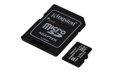 Kingston 32GB micro SD Karte SDHC Class 10 UHS-I 100MB/s Speicherkarte DE/OVP 2