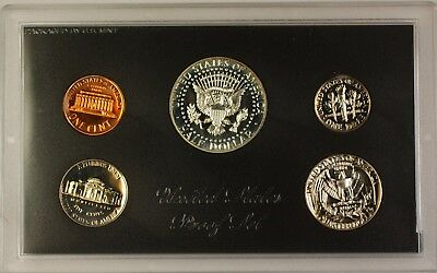 1970 US Mint 5 Coin Proof Set with 40% Silver Kennedy Half as Issued