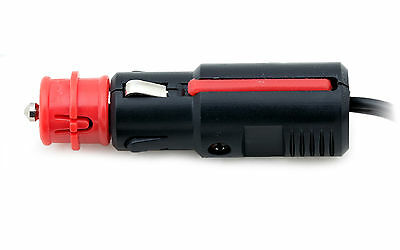 12 Volt Zigarettenanzuender Verlaengerungskabel Batterieclip mit Steckdose X5Z9