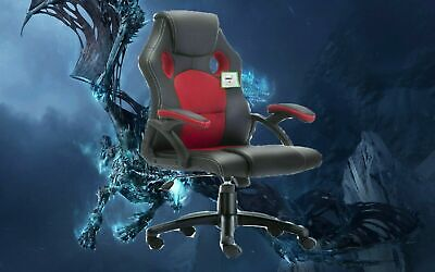Executive Office Racing Gaming Chair Swivel Pu Leather Computer Desk Sport 9