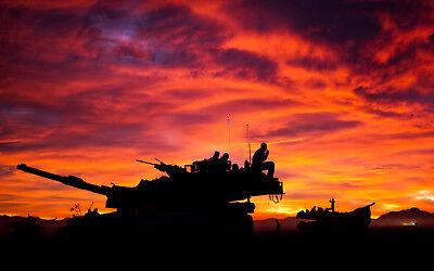M1A1 Abrams Main Battle Tank Lapel Hat Pin Tanker Mos 1812 Usmc Us Marines Gift 5