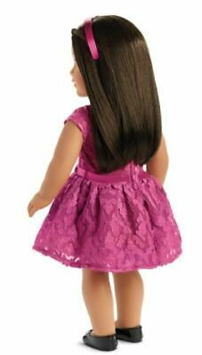 American Girl MERRY MAGENTA Pink Outfit Purse Dress Shoes Christmas    NO Doll 7