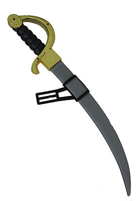 Warrior Samurai Pirate Plastic Toy Weapon Sword Costume Accessory With Holster