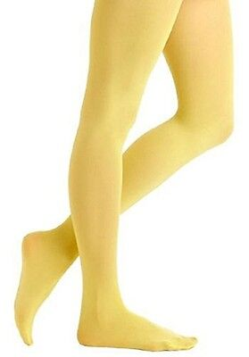 Excellent Comfort. Butterfly Girls Microfiber Opaque Colored Tights (1162)