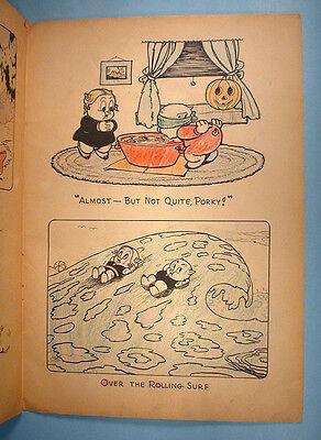 8 Of 12 1938 Porky Pig Looney Tunes Leon Schlesinger Coloring Book Saalfield Warner Bros
