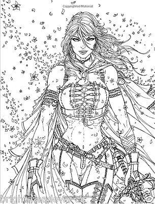 3 Of 4 Grimm Fairy Tales Adult Colouring Book Oz Alice Wonderland Comic Manga Anime