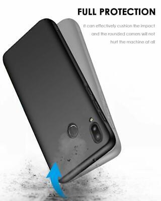 Coque Samsung A70 A50 A40 A20e A10 Housse AntiChoc Case Noir+ Film Verre Trempé 8