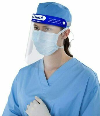 Reusable Face Shield Anti-dust, Anti-droplets, Anti-fog, Protection - multi pack 11