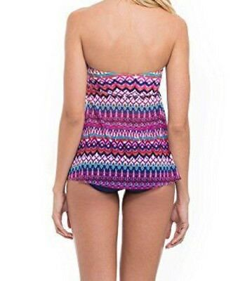 408d917a6a042 ... Profile by Gottex Ikat-Print Flyaway Tankini Top Swimsuit, Pink Multi  Color 3