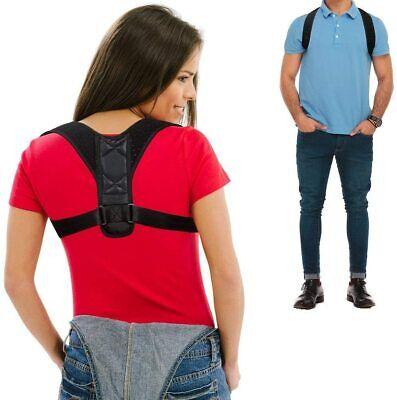 Corrector de Postura espalda unisex,correa ajustable 70 a 110 cm,reduce el dolor 2