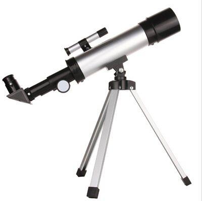 Telescopio Monoculare Astronomico Rifrangente Con Treppiede Cavalletto Stelle 10