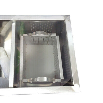 Newly Commercial Grease Traps Kitchen Waste Filter Stainless Steel 4