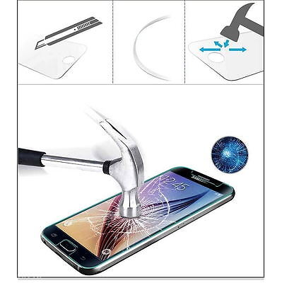 2x Premium Tempered Glass Screen Protector Film Cover For Samsung Galaxy S5 S7 3