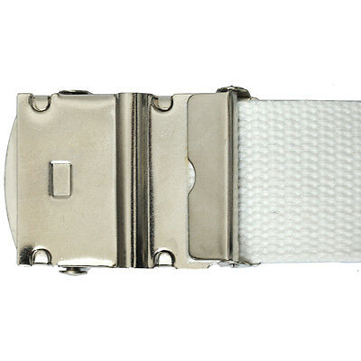 Military Style Canvas Web Belt - BUY 2 GET 1 FREE, JUST ADD THE 3 BELTS TO CART 4
