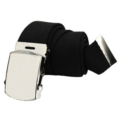 Military Style Canvas Web Belt - BUY 2 GET 1 FREE, JUST ADD THE 3 BELTS TO CART 2